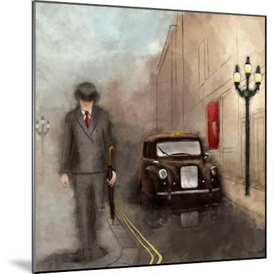 London Streets II-SD Graphics Studio-Mounted Art Print