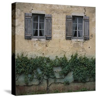 Shuttered Windows Auxonne-Les Petit France-Joe Cornish-Stretched Canvas Print