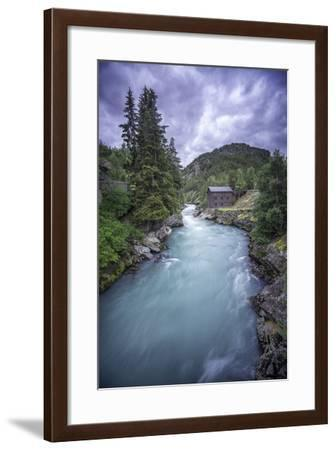 Norway River-Philippe Manguin-Framed Photographic Print