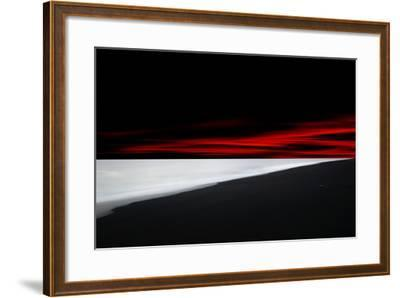 Red Lines-Philippe Sainte-Laudy-Framed Photographic Print