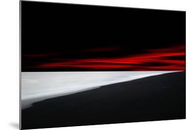 Red Lines-Philippe Sainte-Laudy-Mounted Photographic Print
