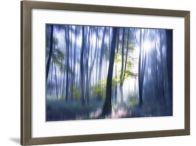 Solitude Bleue-Viviane Fedieu Daniel-Framed Photographic Print