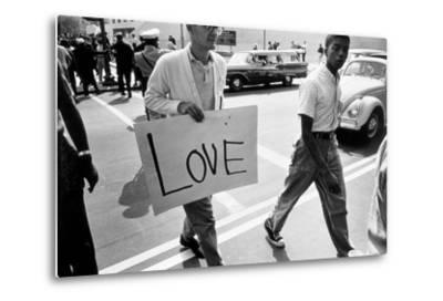 The March on Washington: Love, 28th August 1963-Nat Herz-Metal Print