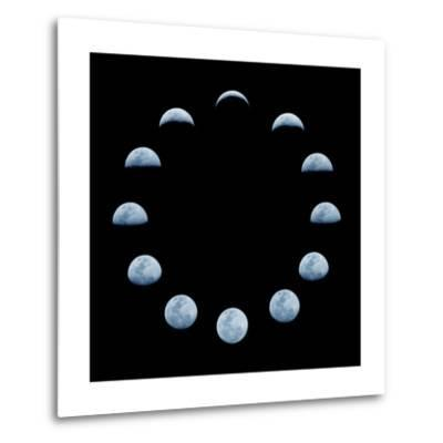 Moon and it's Phases-oriontrail2-Metal Print