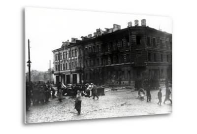 The Kronstadt Revolt, 1921-Russian Photographer-Metal Print