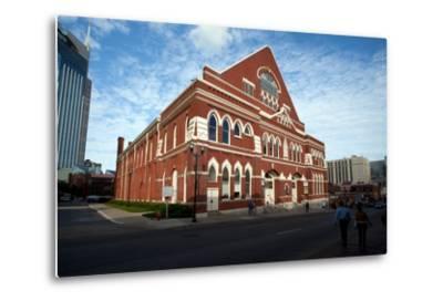 The Ryman Auditorium in Nashville Tennessee--Metal Print