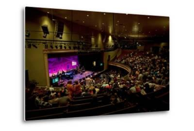 The Grand Ol Opry Night at Theryman Auditorium in Nashville Tennessee--Metal Print