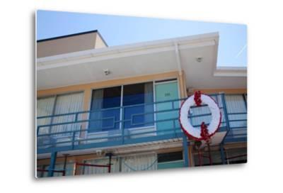 The Lorraine Motel in Memphis Tennessee Where Martin Luther King Was Assassinated--Metal Print