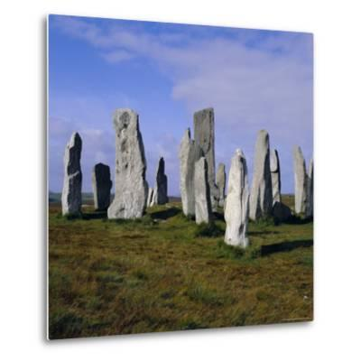 Callanish Standing Stones, Lewis, Outer Hebrides, Scotland, UK, Europe-Michael Jenner-Metal Print