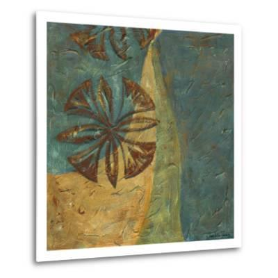 Lattice work VIII-Chariklia Zarris-Metal Print