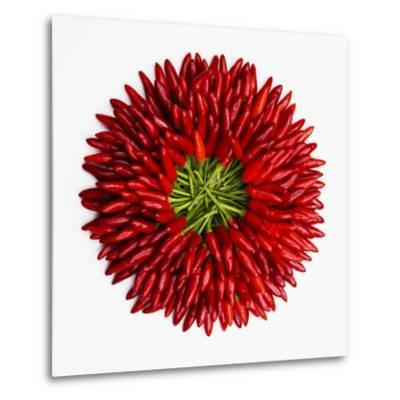 Chili Peppers--Metal Print
