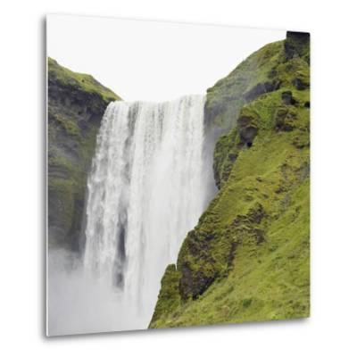 Waterfall-Neil C^ Robinson-Metal Print