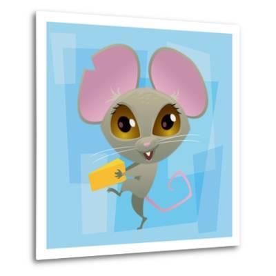 Anime Mouse-Harry Briggs-Metal Print