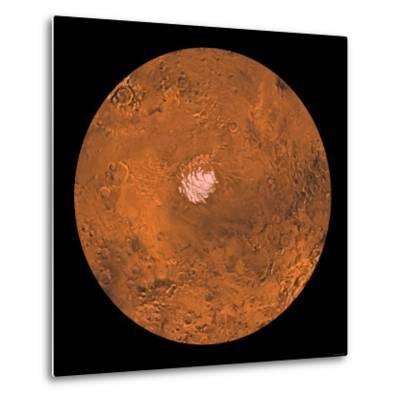 Mare Australe Region of Mars-Stocktrek Images-Metal Print