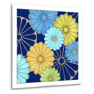 Floral Confetti IV-Erica J^ Vess-Metal Print