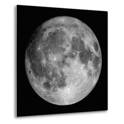 Full Moon-Stocktrek Images-Metal Print