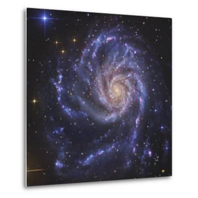 Pinwheel Galaxy, NGC 5457-Stocktrek Images-Metal Print