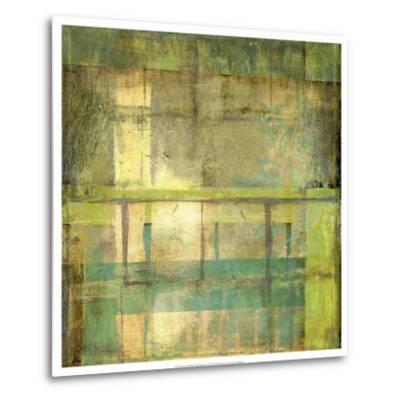 Non-Embellish Guilded Turquoise I-Jennifer Goldberger-Metal Print