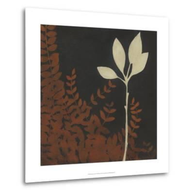Garden Cameo I-Erica J^ Vess-Metal Print