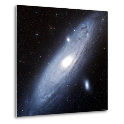 Andromeda Galaxy-Stocktrek Images-Metal Print