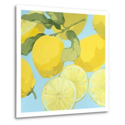 Fresh Lemons-Martha Negley-Metal Print