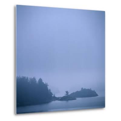 Coastal Islands in Fog-Micha Pawlitzki-Metal Print