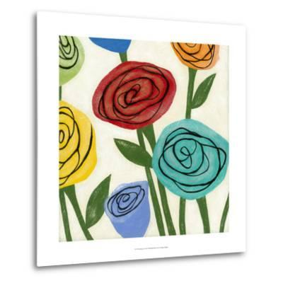 Pop Roses I-Megan Meagher-Metal Print