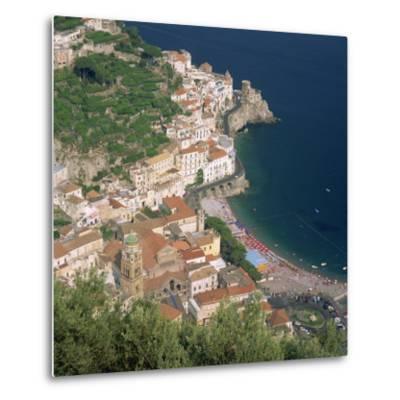 Amalfi, Costiera Amalfitana, Campania, Italy-Roy Rainford-Metal Print