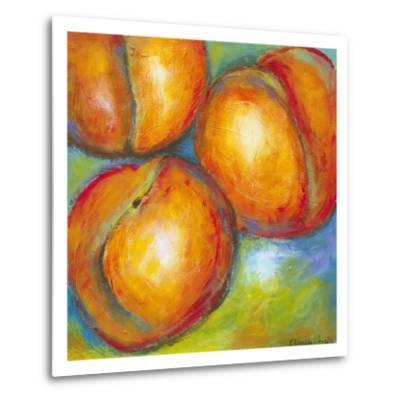 Abstract Fruits II-Chariklia Zarris-Metal Print