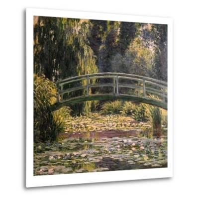 The Japanese Footbridge, Giverny-Claude Monet-Metal Print