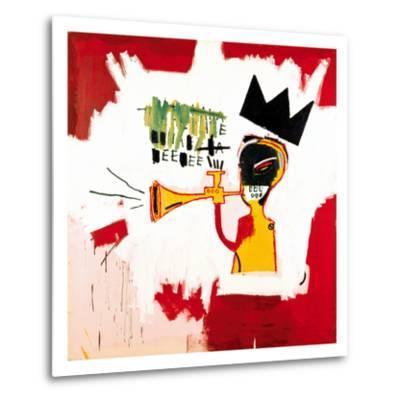 Trumpet, 1984-Jean-Michel Basquiat-Metal Print