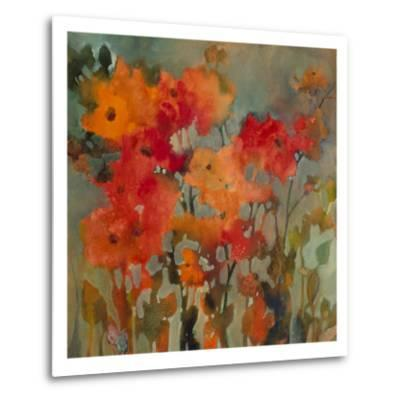 Orange Flower-Michelle Abrams-Metal Print