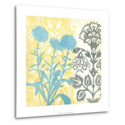Floral Triad I-Megan Meagher-Metal Print