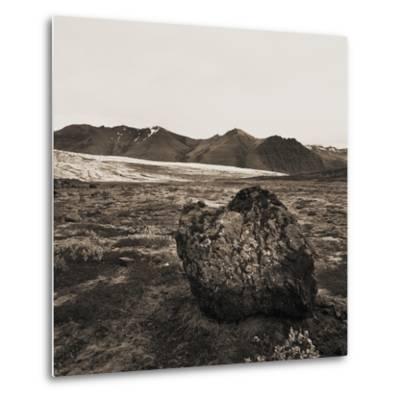 Boulder in Glacial Till--Metal Print