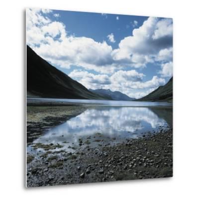 Clouds Reflected in Loch Etive--Metal Print