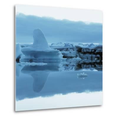 Iceberg Shaped Like a Whale Fin--Metal Print