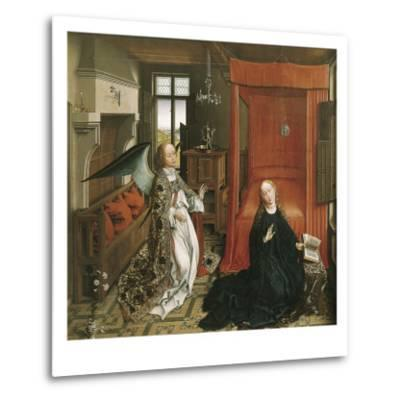 The Annunciation-Rogier van der Weyden-Metal Print