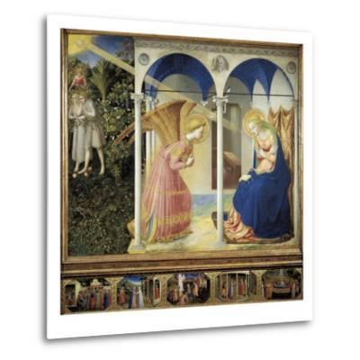 The Annunciation-Fra Angelico-Metal Print