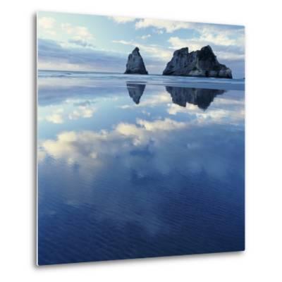 Sea Stacks in Ocean-Micha Pawlitzki-Metal Print