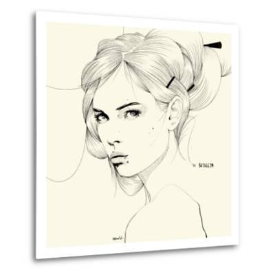 Sutileza-Manuel Rebollo-Metal Print