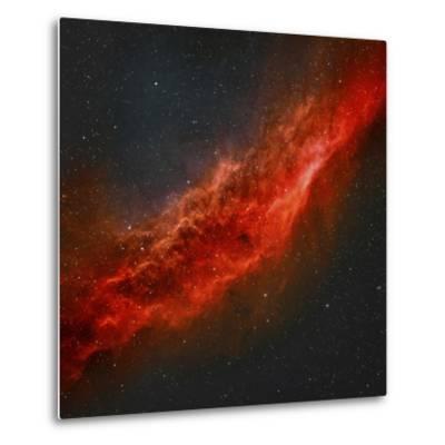 The California Nebula-Stocktrek Images-Metal Print