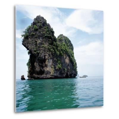 Coastline Thailand--Metal Print