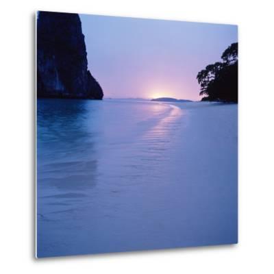 Tropical Beach--Metal Print