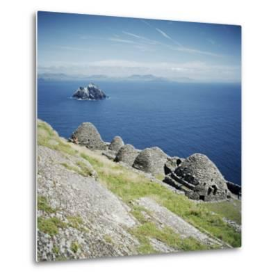 Ancient Monastic Settlement in Skellig Michael, County Kerry, Munster, Republic of Ireland-Andrew Mcconnell-Metal Print