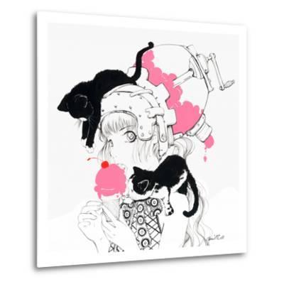 Cherry Jubilee-Camilla D'Errico-Metal Print