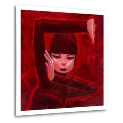 Ninja I-Aaron Jasinski-Metal Print