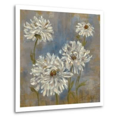 Flowers in Morning Dew II-Silvia Vassileva-Metal Print