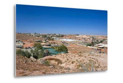 View over Coober Pedy, South Australia, Australia, Pacific-Michael Runkel-Metal Print