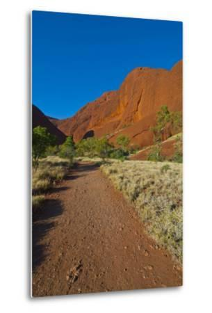The Olgas (Kata Tjuta), Uluru-Kata Tjuta Nat'l Park, UNESCO Site, Northern Territory, Australia-Michael Runkel-Metal Print