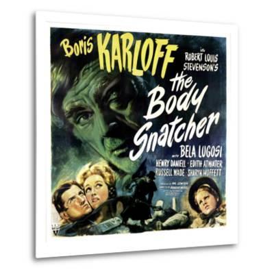 The Body Snatcher, Boris Karloff (Top), Sharyn Moffett (Bottom, Right), 1945--Metal Print